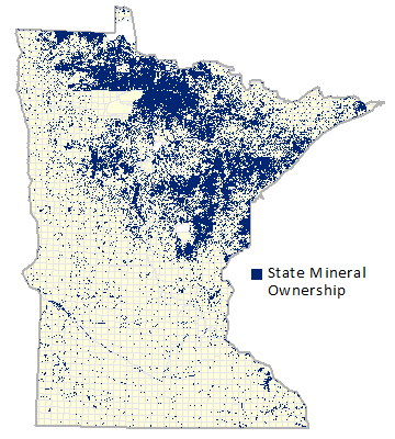 Minnesota Minerals Coordinating Committee - Us iron ore deposits map